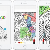Tayasui Color gratis te downloaden via Apple Store-app