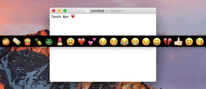 Touch Bar op de iPad