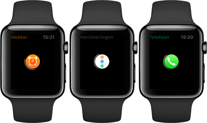 Opstarten met vertraging op de Apple Watch