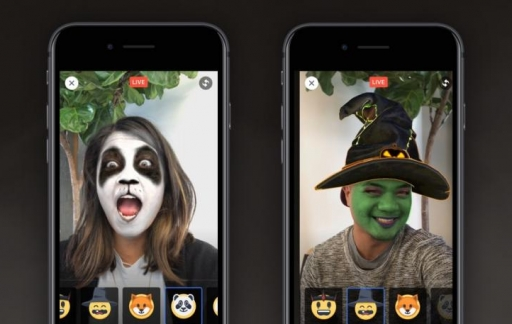 Facebook Halloween-filters