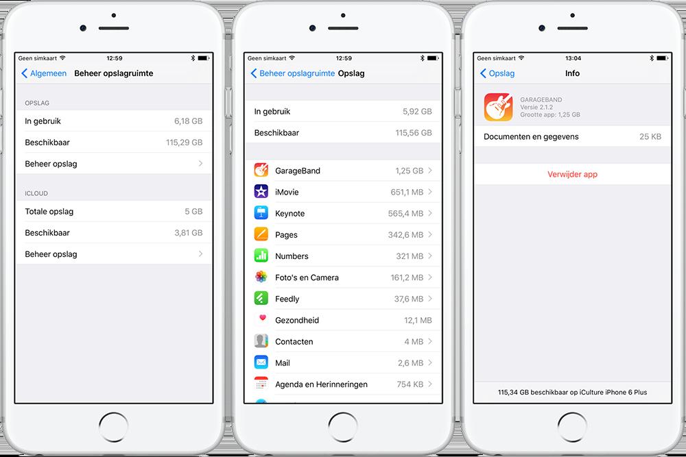 iWork- en iLife-apps verwijderen