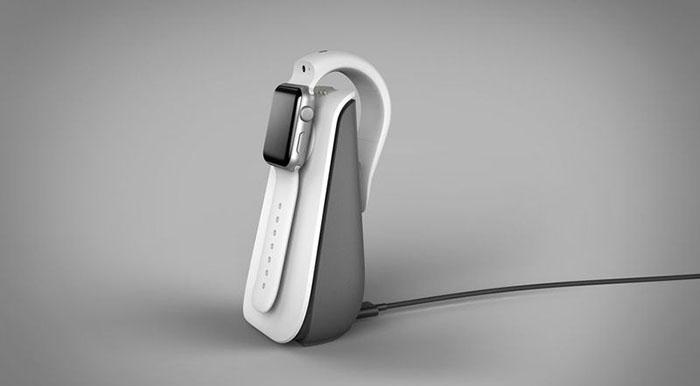 CMRA oplader voor Apple Watch-bandje met camera