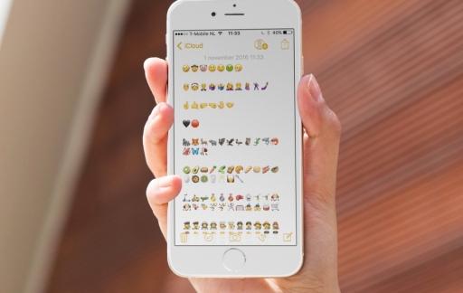 Nieuwe emoji's in iOS 10.2.