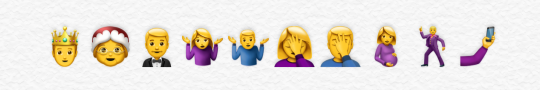 Nieuwe personen emoji's in iOS 10.2.