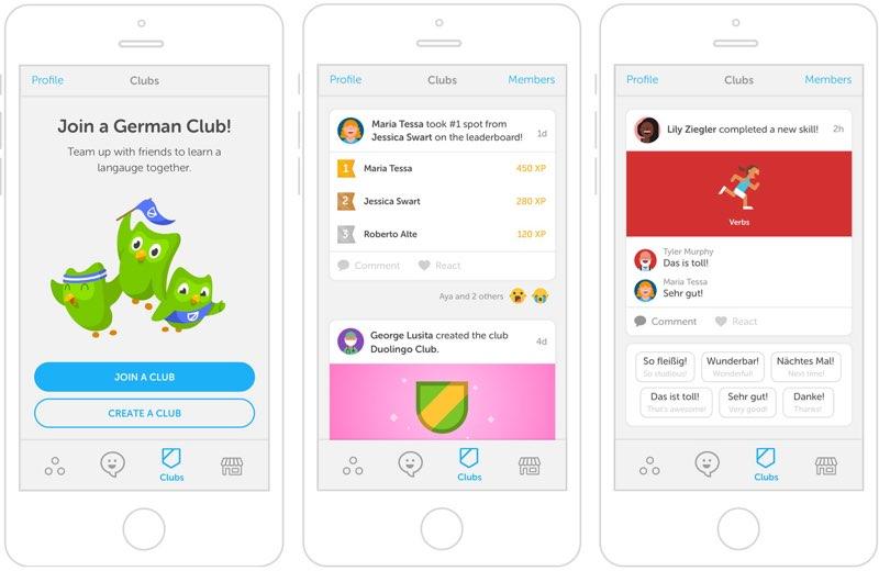 Duolingo Clubs