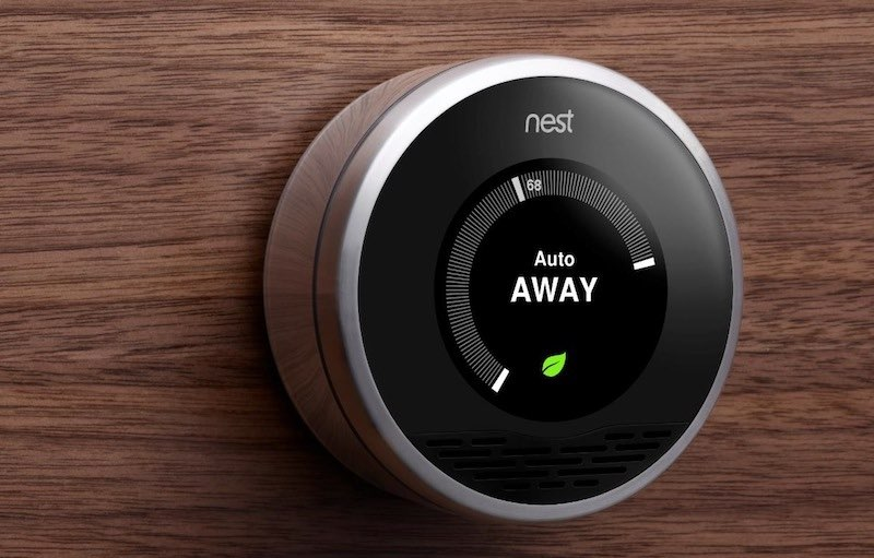 Nest-thermostaat: auto Away-functie