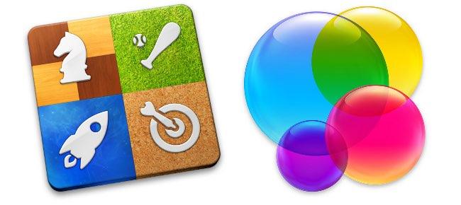 Game Center logos