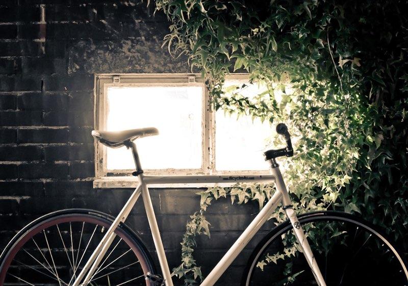 Huis met verlichting