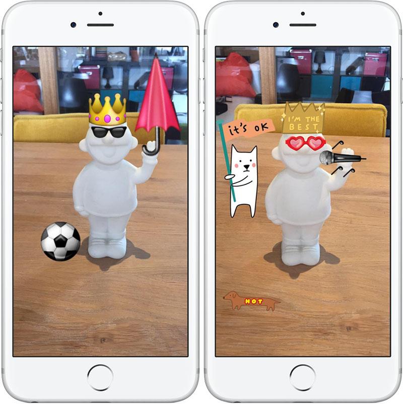 Snapchat emoji en stickers