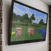 Minecraft: Apple TV Edition.
