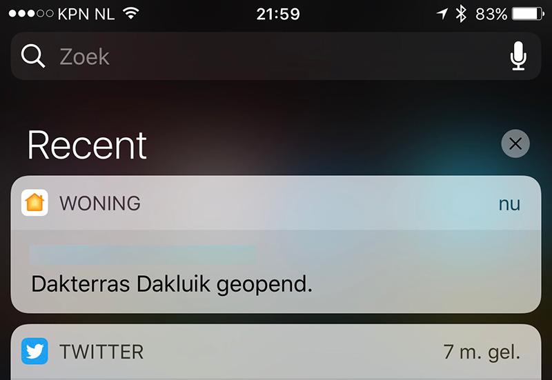 Sensoren iOS 10