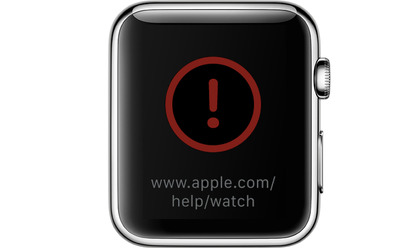 Apple Watch vastgelopen