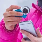 Giroptic iO, de 360 camera die op en iPhone gedaan wordt.