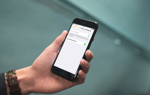 Berichtgeving in Woning-app van HomeKit.