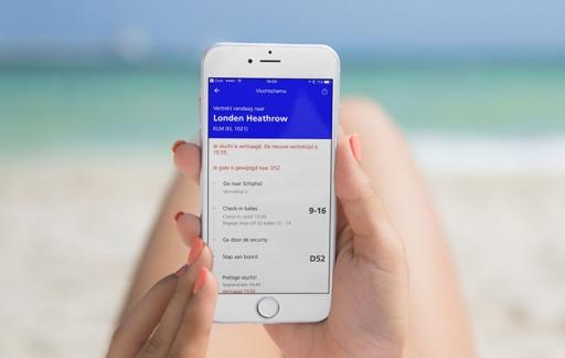 Schiphol-app vernieuwd maar onlogischer