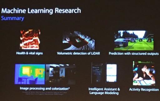 Apple AI Keynote beeld