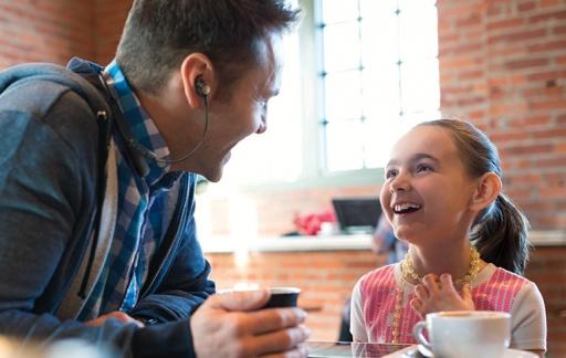 Bose Hearphones, goed gesprek