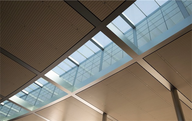 Apple Campus 2 skylight