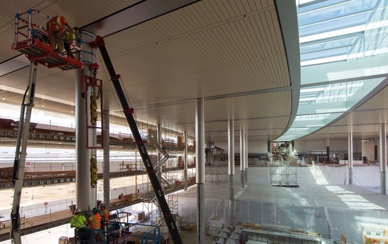 Apple Campus: atrium