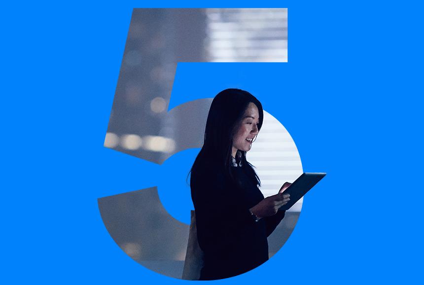 Bluetooth 5 aandkondigingsfoto