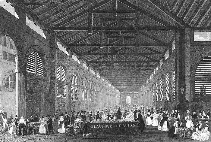 Marché Saint-Germain 1850