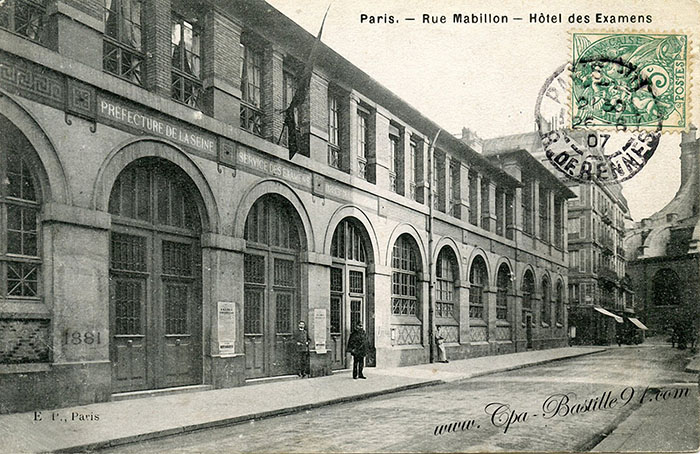 Marché Saint-Germain in 1850