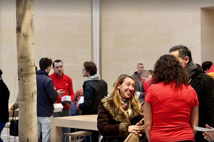 Apple Store Parijs Marché Saint Germain