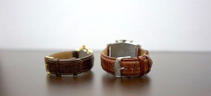 Patch-horlogebandje voor gewone horloges