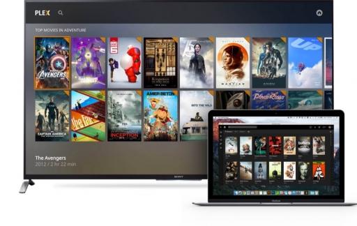 Plex Media Player.