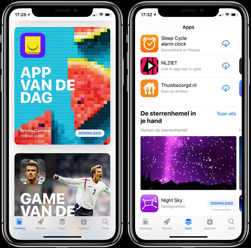 App Store zoeken
