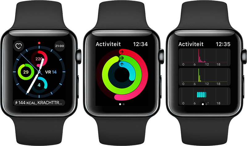 Activiteit-app op de Apple Watch