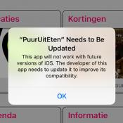 'Toekomstige iOS-versies maken bijna 200.000 apps onbruikbaar'