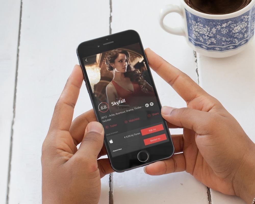 Film.nl met Skyfall op de iPhone.