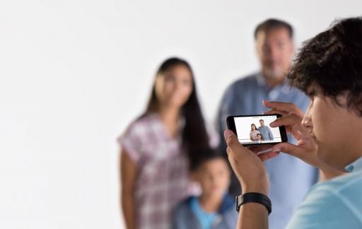 VoiceOver voor blinde fotograaf