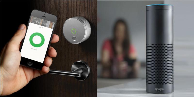 August-deurslot werkt ook met Alexa