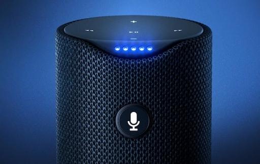 Amazon speaker met Alexa
