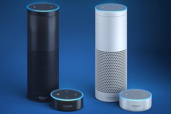 Amazon Alexa speakers