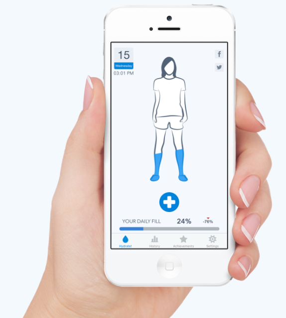 Waterminder voor iPhone, iPad en Apple Watch