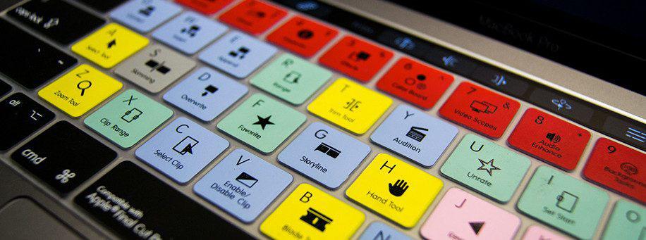 Editors Keys kleuren op het toetsenbord