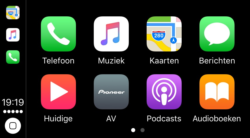 CarPlay in iOS 10.3.