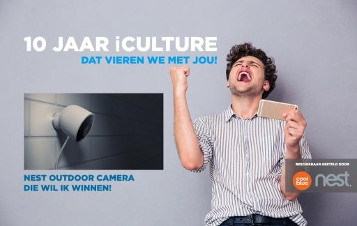 iCulture winactie: Nest Outdoor camera