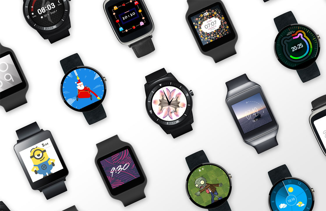 Android Wear 2.0 horloges