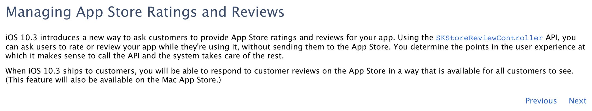 App Store reviews en reacties