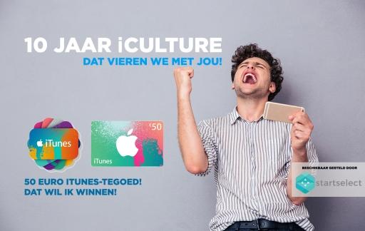 iCulture winactie: iTunes-tegoed