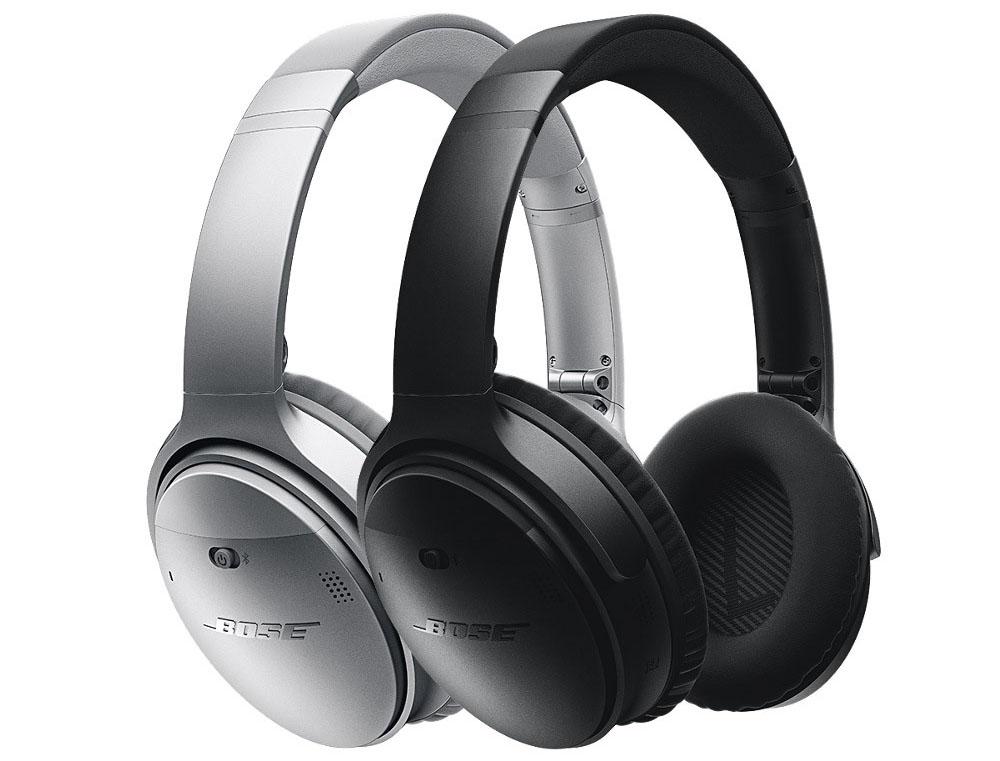 Bose QuietComfort 35 in zwart en zilver