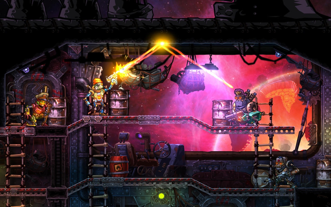 Steamworld Heist.
