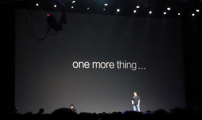 Xiaomi: ook een One More Thing tijdens een presentatie