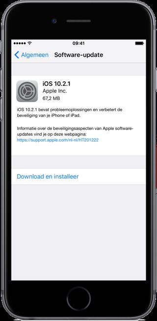 iOS 10.1.1 releasenotes.