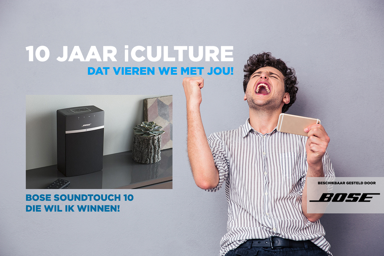 iCulture winactie: Bose SoundTouch 10