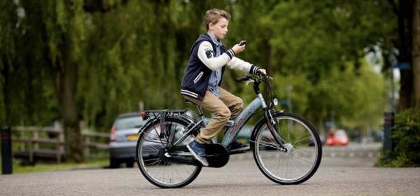 smartphoneverbod fiets